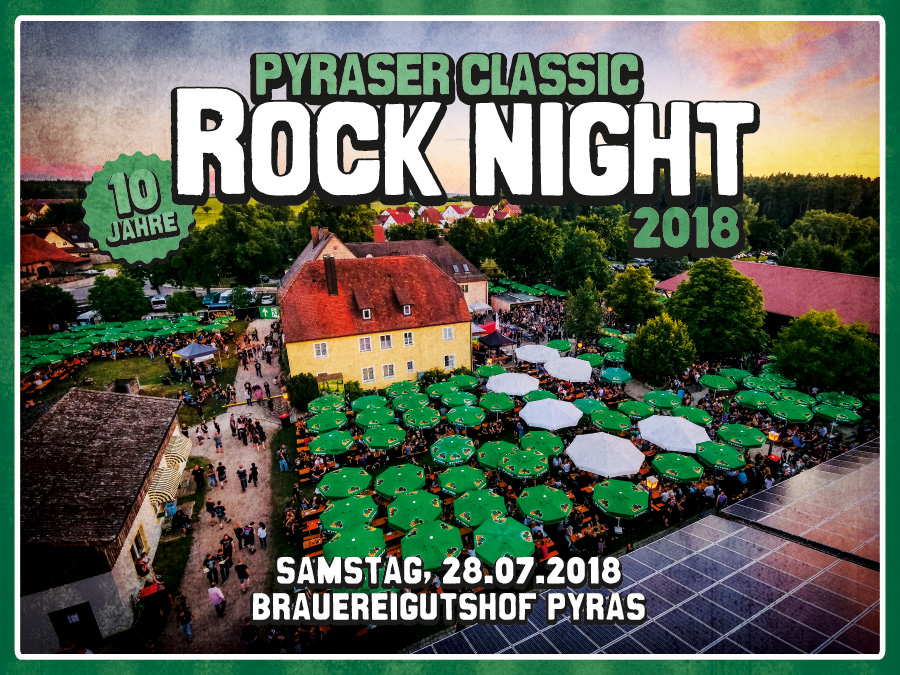PYRASER CLASSIC ROCK NIGHT